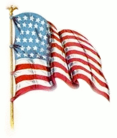 Vintage amerian flag clipart picture library library Veterans Day Animated Clipart | ClipArtHut - Free Clipart ... picture library library