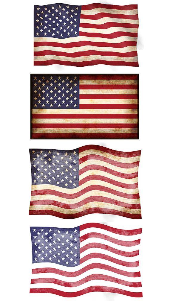 Vintage amerian flag clipart transparent library Vintage american flag clipart 4 » Clipart Station transparent library