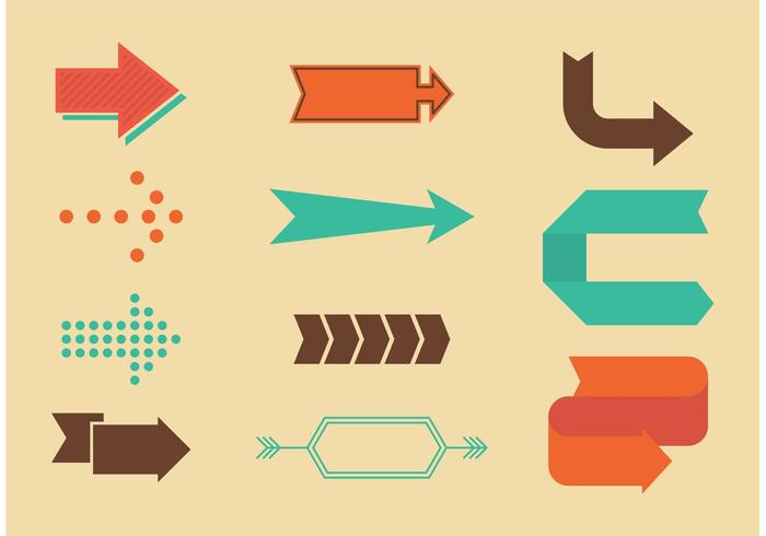 Vintage arrow clipart download graphic library download Retro Arrow Vectors - Download Free Vectors, Clipart ... graphic library download