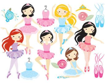 Vintage baller clipart graphic freeuse Ballerina clipart - ballerina clip art, girl ballet, dancing ... graphic freeuse