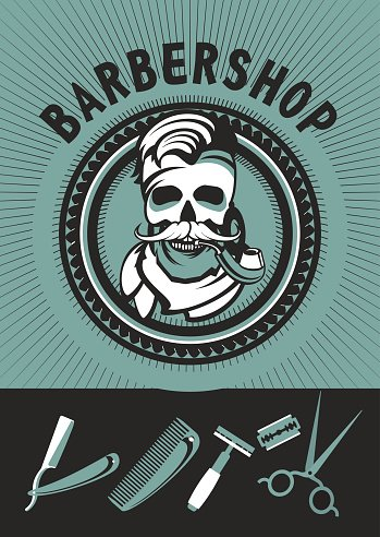 Vintage barber clipart clip art transparent Vintage Barber Shop stock vectors - Clipart.me clip art transparent
