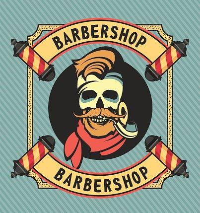 Vintage barber shop clipart jpg black and white library Vintage Barber Shop premium clipart - ClipartLogo.com jpg black and white library