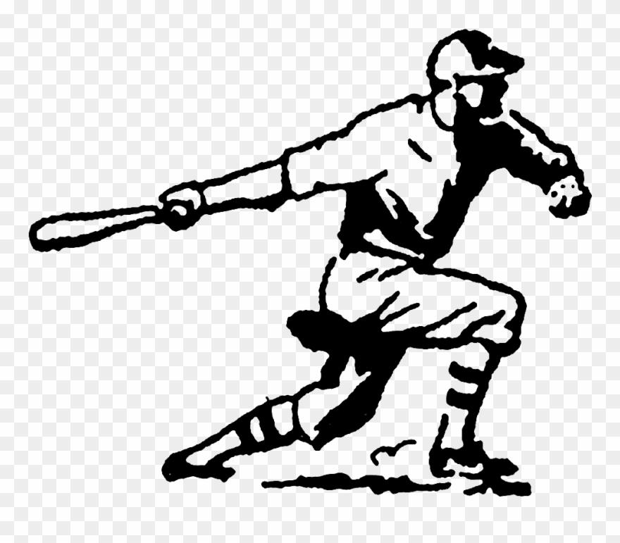 Vintage baseball players clipart clipart transparent download Digital Stamp Design Vintage - Vintage Baseball Clip Art ... clipart transparent download