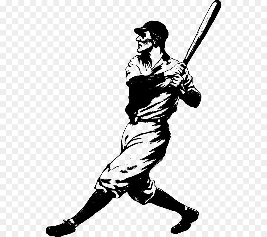 Vintage baseball players clipart image freeuse library Bats Cartoon clipart - Baseball, Silhouette, Line ... image freeuse library