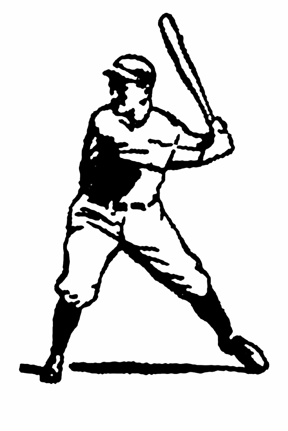 Vintage baseball players clipart picture freeuse library Vintage Baseball Vector Freeuse Download Free - Clip Art ... picture freeuse library