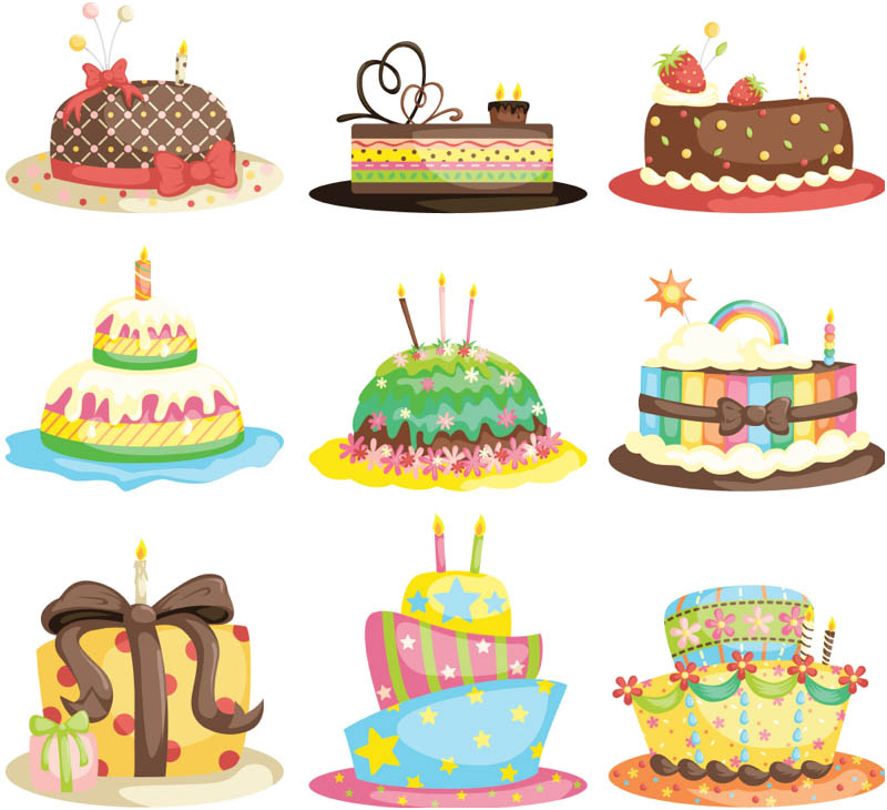 Vintage birthday cake clipart vector 17 Best images about Vectores on Pinterest | Vintage labels, Clip ... vector