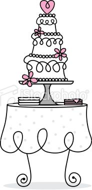 Vintage birthday cake clipart clip library Vintage Wedding Cake Clipart - Clipart Kid clip library