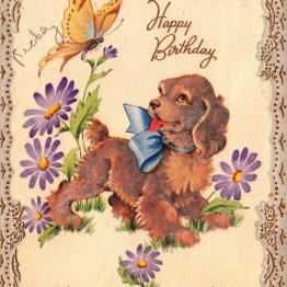 Vintage birthday card clipart jpg library download Free Birthday Clipart and Vintage Illustrations | Free ... jpg library download