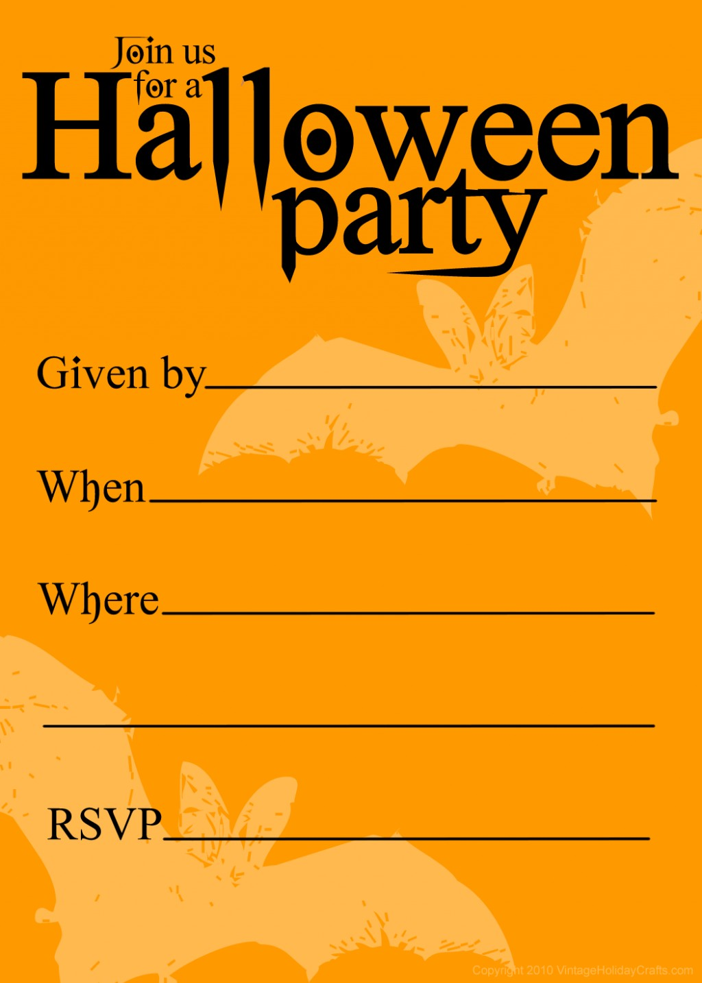 Vintage birthday invitation clipart clipart free download Halloween Party Invitation Clipart. Snowjet.co - Clip Art ... clipart free download
