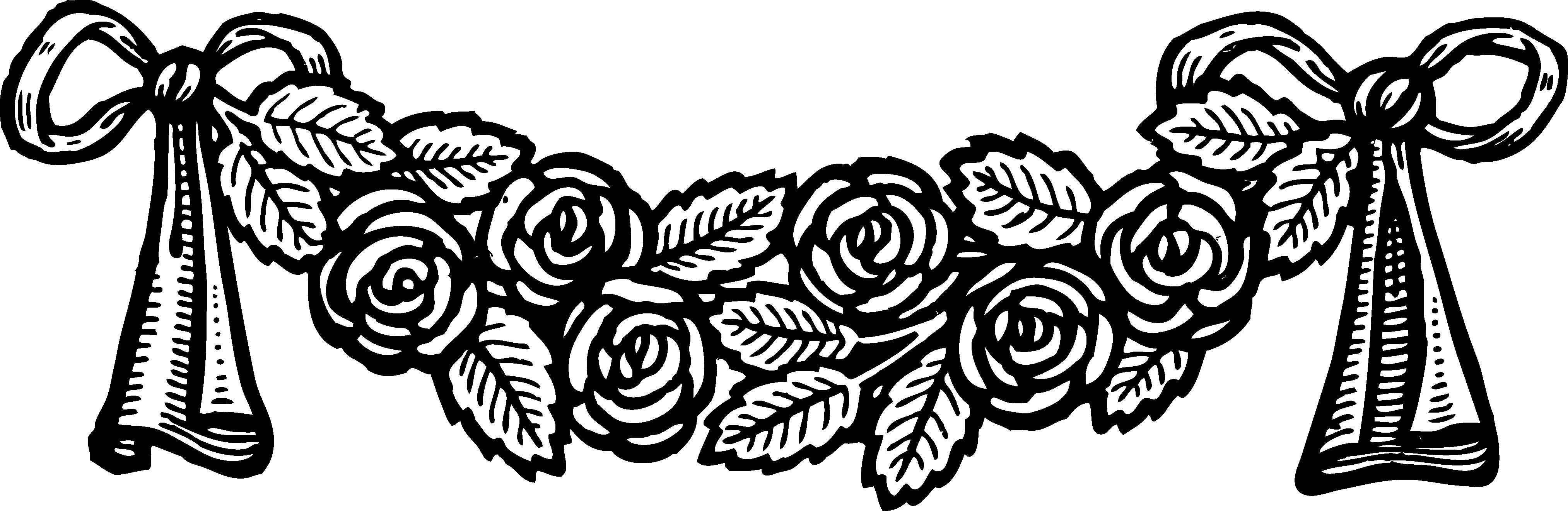 Vintage black banner clipart vector royalty free Download Banner Clip Vintage - Vintage Black And White Rose ... vector royalty free