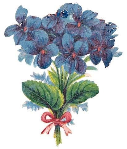 Vintage blue flower clipart image black and white Free Vintage Flower Cliparts, Download Free Clip Art, Free ... image black and white