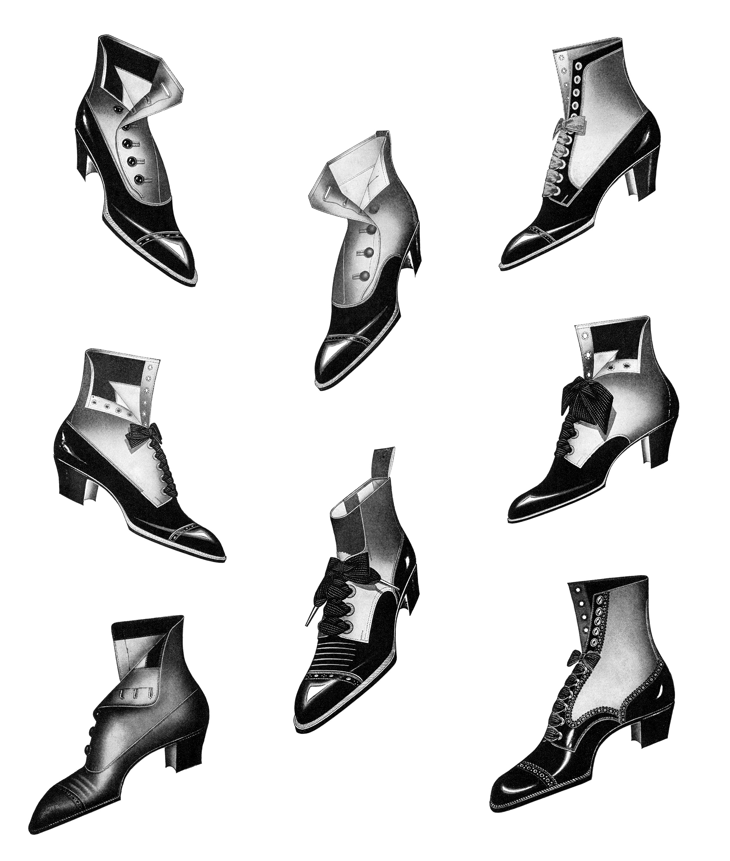Vintage boot clipart picture download Free Victorian Boot Cliparts, Download Free Clip Art, Free ... picture download
