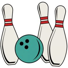 Vintage bowling logo clipart banner stock Clipart of bowling - ClipartFest banner stock