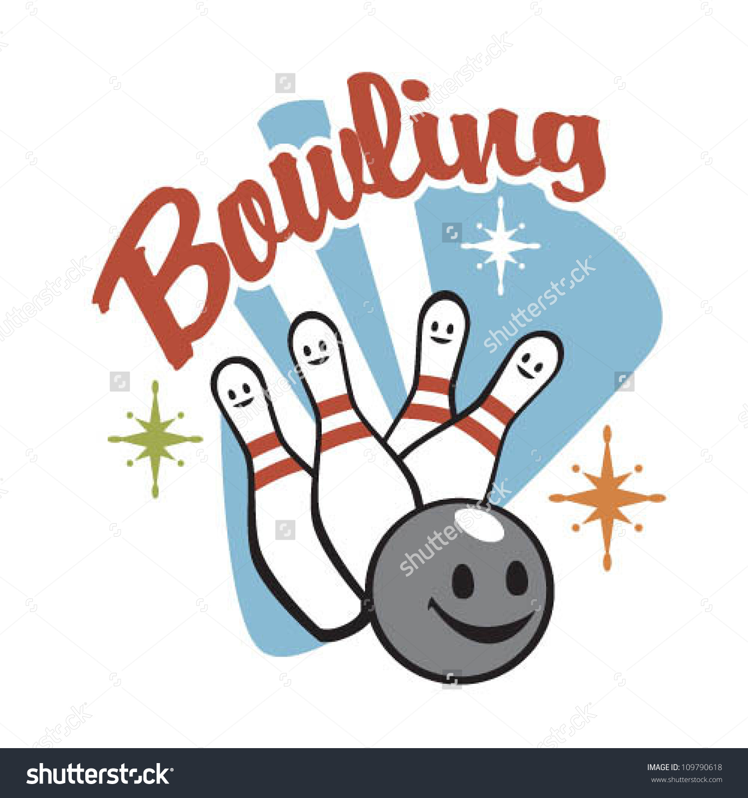 Vintage bowling logo clipart jpg black and white Vintage bowling logo clipart - ClipartFest jpg black and white
