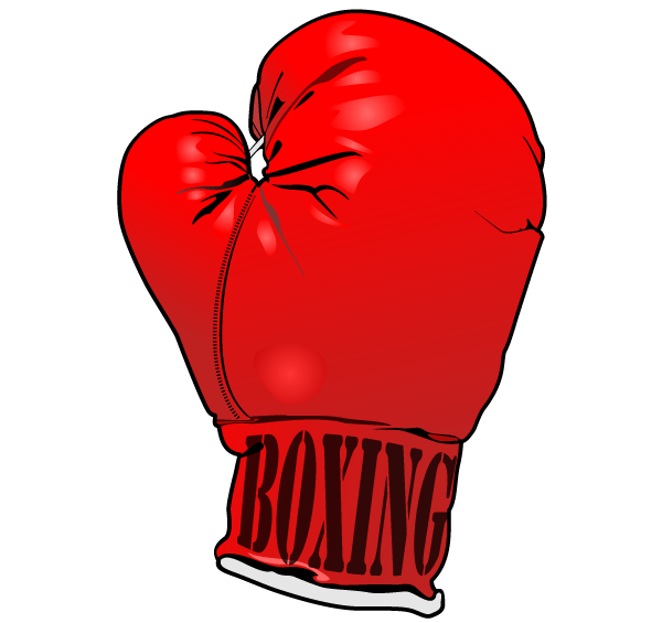 Vintage boxing gloves clipart free black and white Red Boxing Gloves Vector Image Free | Free Vectors | Red ... black and white