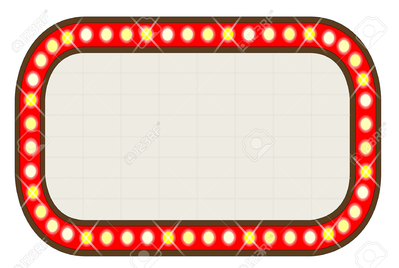 Theatre lights border clipart transparent Free Marquee Lights Cliparts, Download Free Clip Art, Free ... transparent