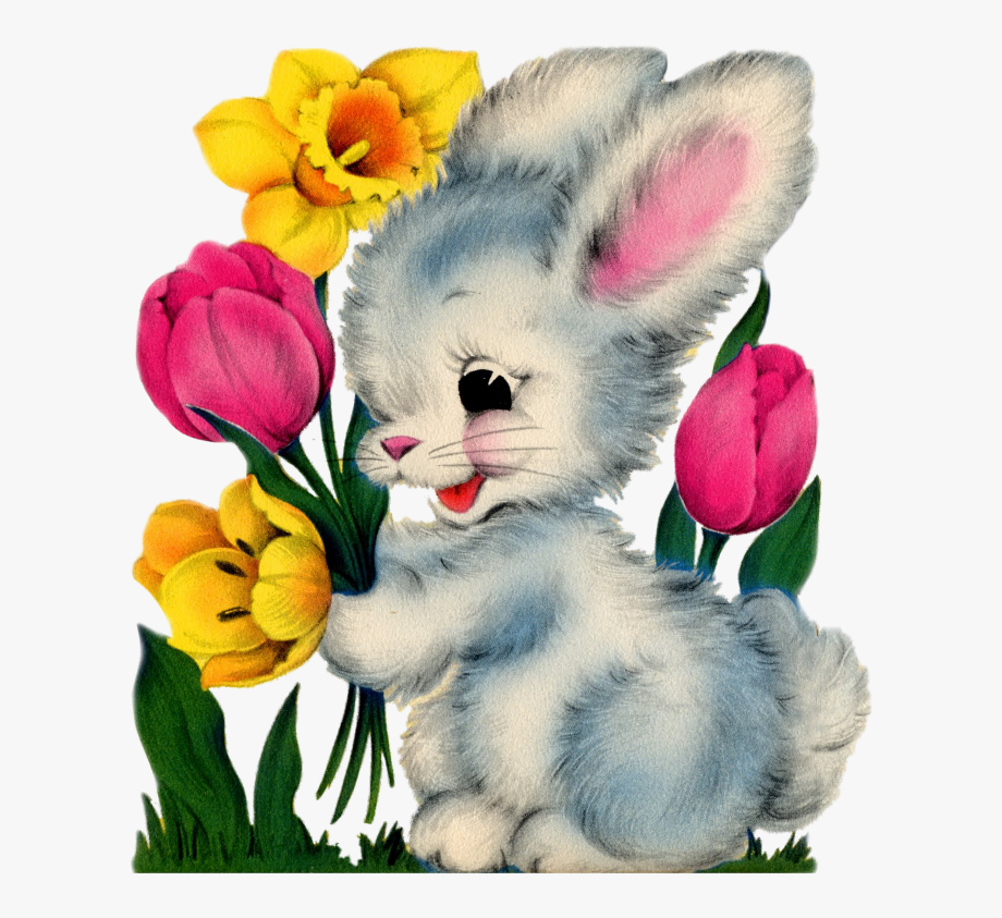Vintage bunny clipart vector royalty free stock Http Bp Blogspot Com Knvwf O Czi - Vintage Easter Bunny ... vector royalty free stock