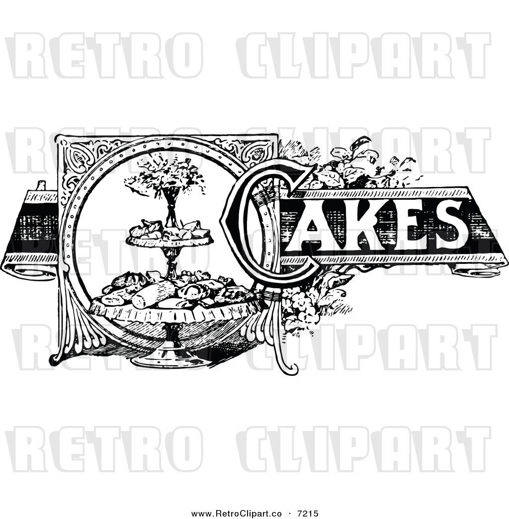 Vintage cake clipart vector download Retro Recipes Clipart - Clipart Kid vector download