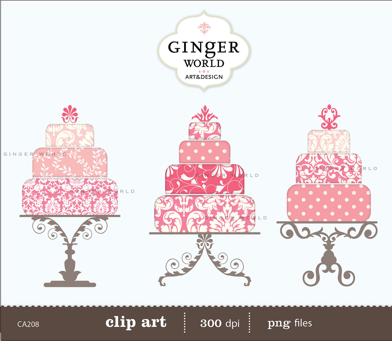 Vintage cake clipart image library Vintage Cake Clipart - Clipart Kid image library