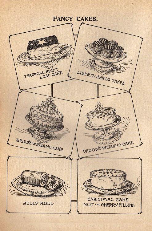 Vintage cake clipart svg black and white library Vintage Cake Clipart - Clipart Kid svg black and white library