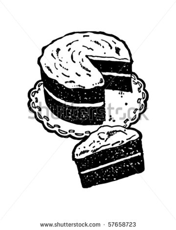 Vintage cake clipart vector free Vintage Cake Clipart - Clipart Kid vector free