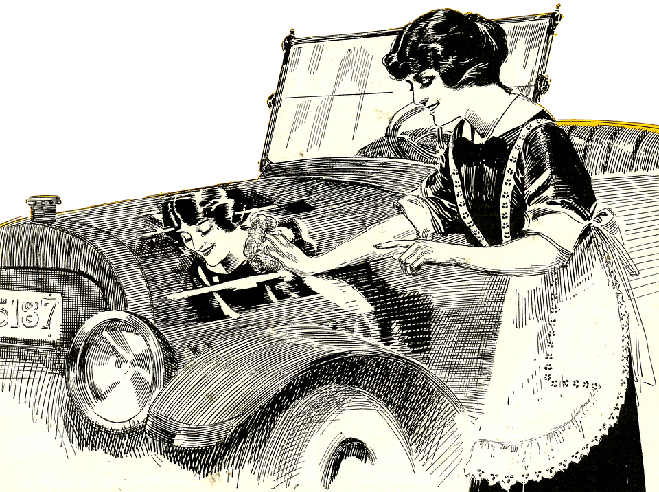 Vintage car logo clipart clip transparent download How to Best Wash Your Classic Car - Wilson's Auto Restoration Blog clip transparent download