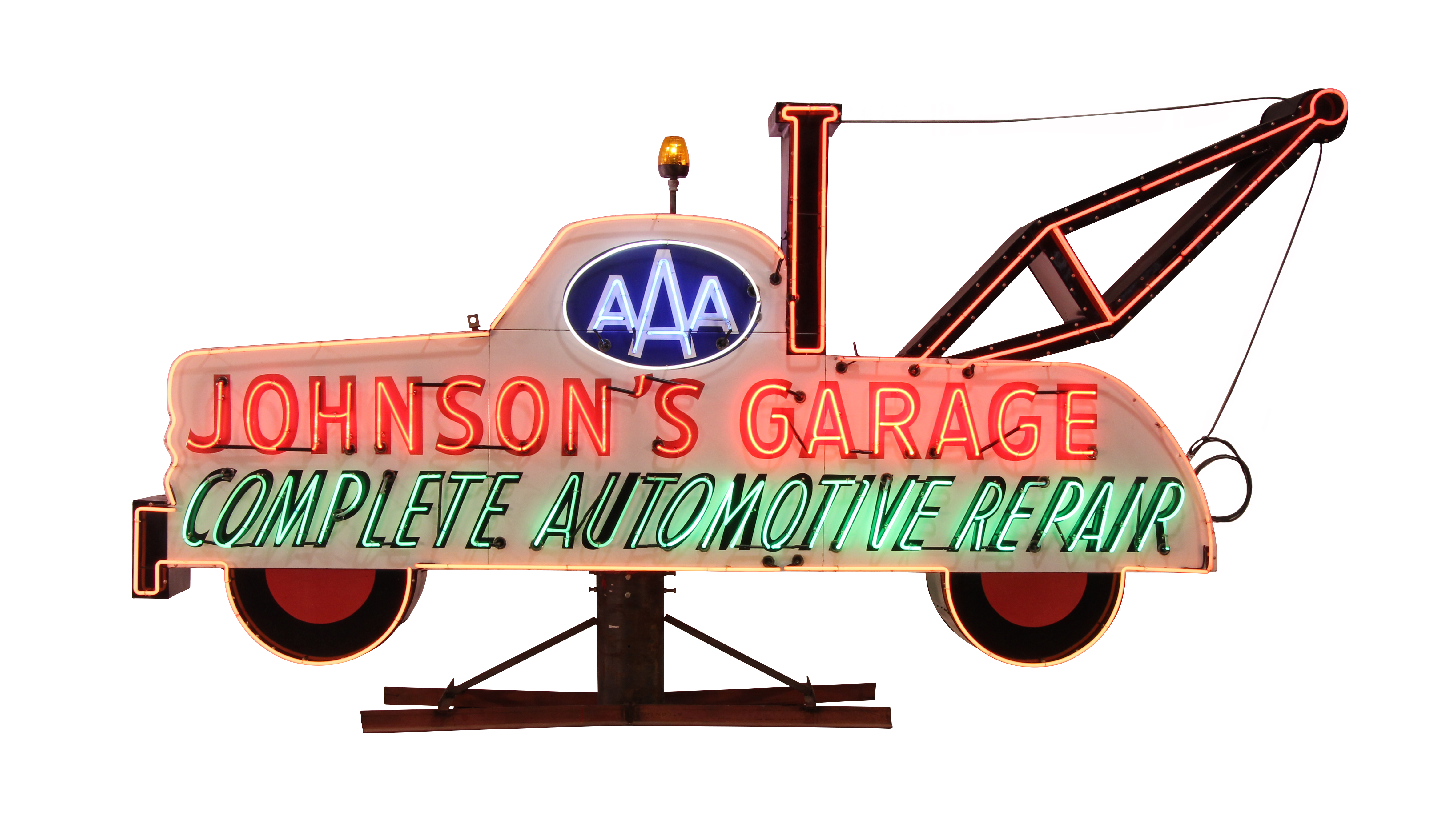 Vintage car signs clipart png free download Huge collection of vintage auto and other neon signs to be ... png free download