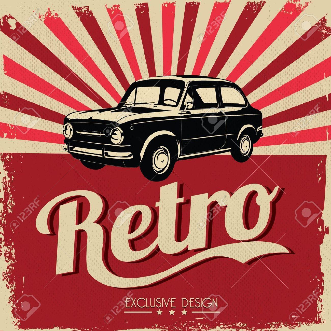 Vintage car signs clipart image royalty free download Stock Vector   vintage transportation   Flyer design ... image royalty free download