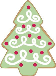 Vintage christmas cookie clipart free banner freeuse library Free Vintage Christmas Clip Art - Clip Art Library banner freeuse library