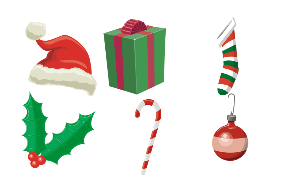 Vintage christmas ornament clipart clipart transparent download Free Christmas Holly Graphics, Download Free Clip Art, Free Clip Art ... clipart transparent download