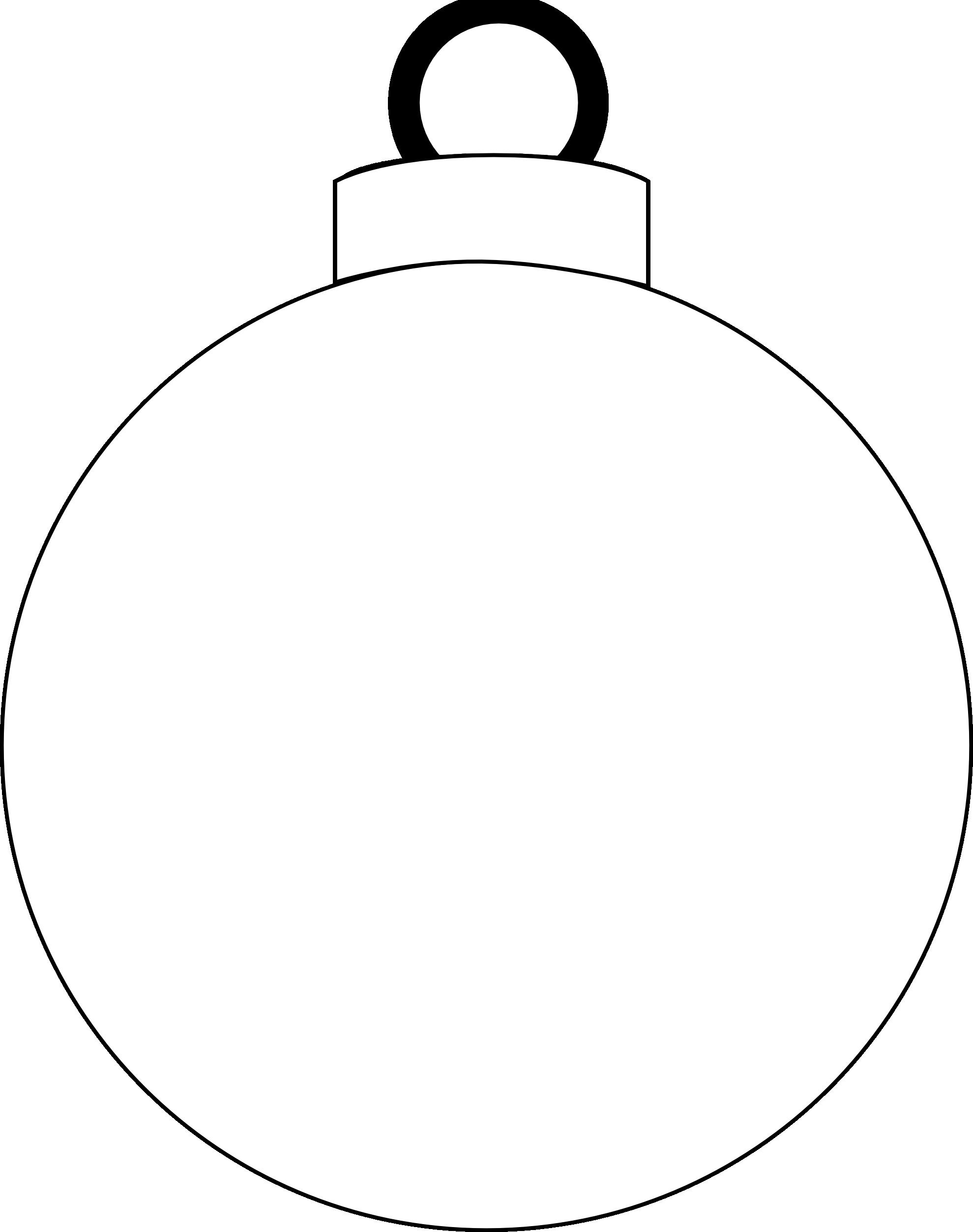 Vintage christmas ornament clipart graphic freeuse stock Christmas Ornament Clipart Black And White | Free download best ... graphic freeuse stock