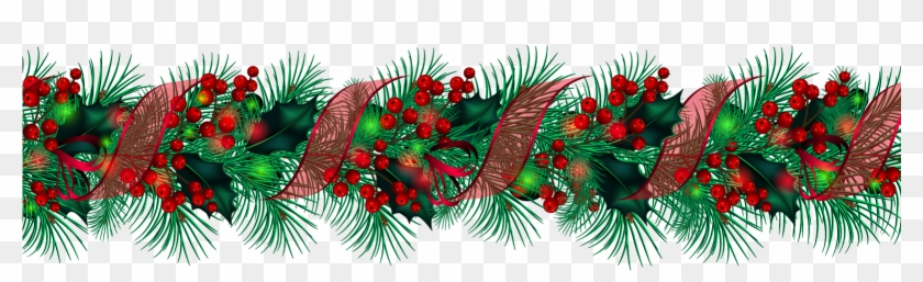 Vintage christmas pine rope clipart graphic library library Country Western Christmas Clipart - Christmas Rope Png ... graphic library library