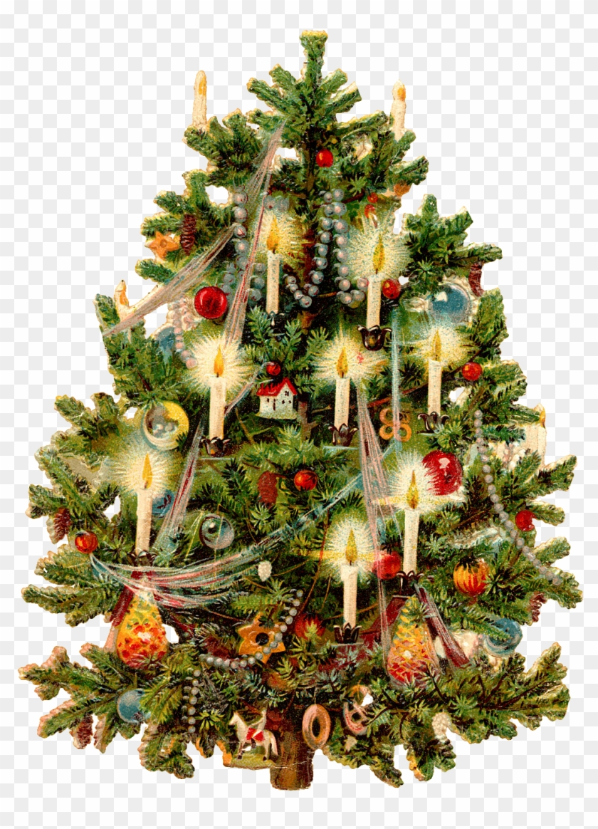 Vintage christmas tree clipart free picture transparent download Christmas Tree Shapes - Vintage Christmas Tree Clipart, HD ... picture transparent download