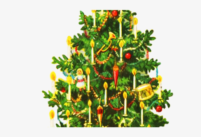 Vintage christmas tree clipart free banner royalty free stock Christmas Tree Clipart Old Fashioned - Public Domain Vintage ... banner royalty free stock