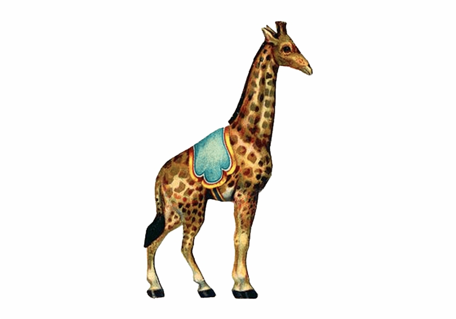 Vintage circus clipart clip art library Circus Vintage Giraffe - Vintage Circus Clipart Png {#322965 ... clip art library