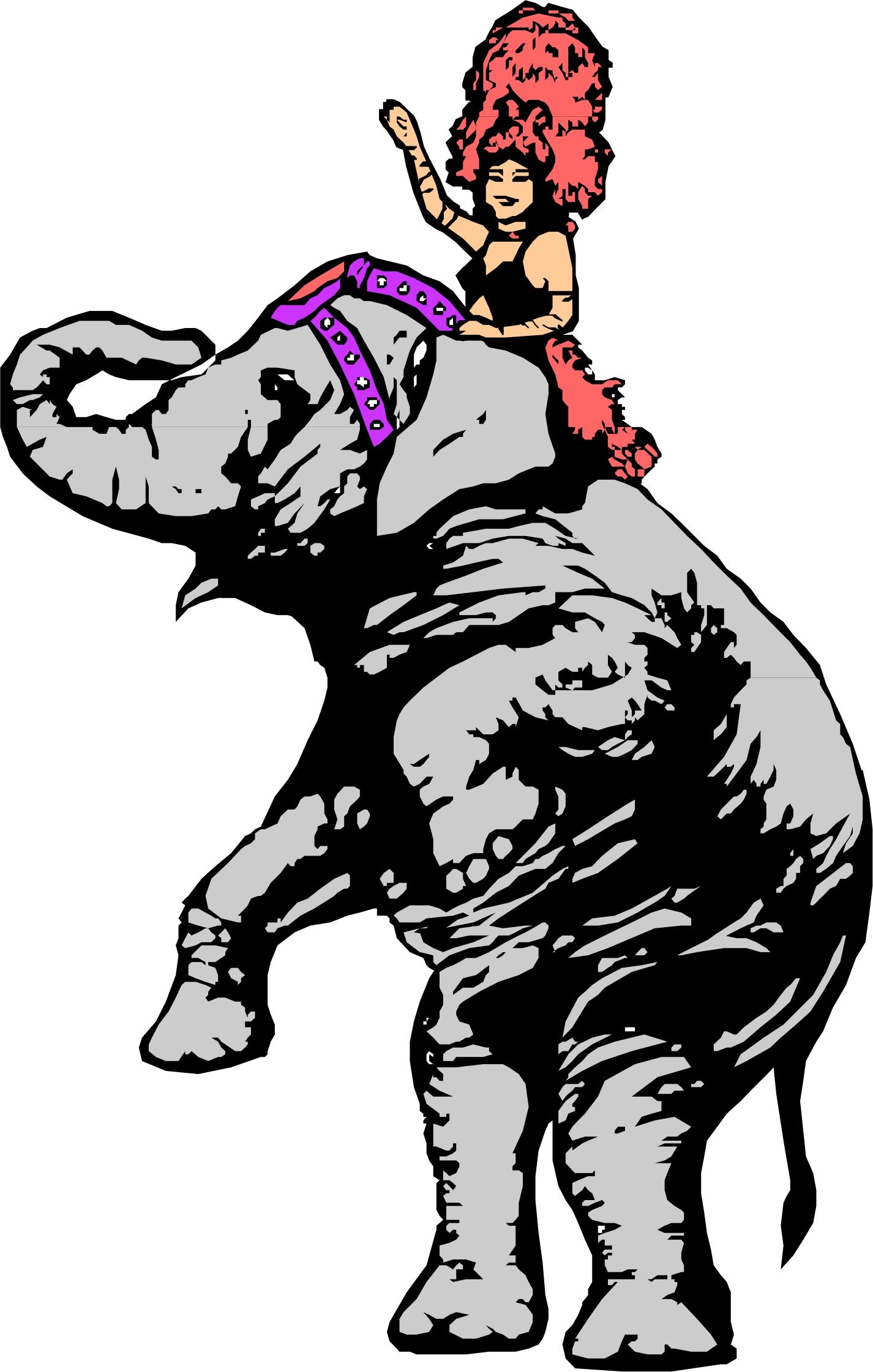 Vintage circus elephant clipart clip art freeuse download Free Circus Elephant Cliparts, Download Free Clip Art, Free ... clip art freeuse download