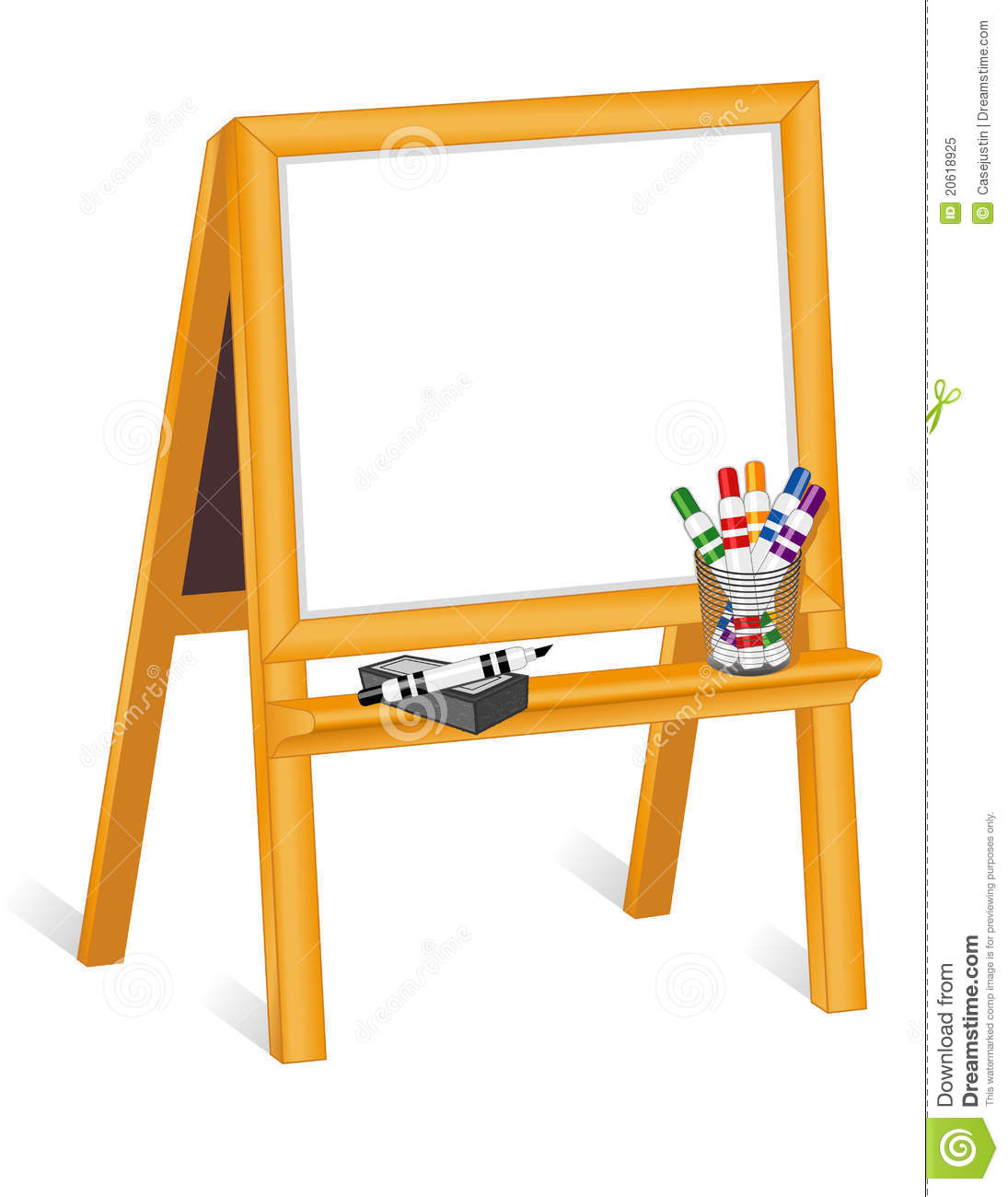 Vintage clipart easel freeuse library Easel Cliparts #51455 - Clipartimage.com freeuse library