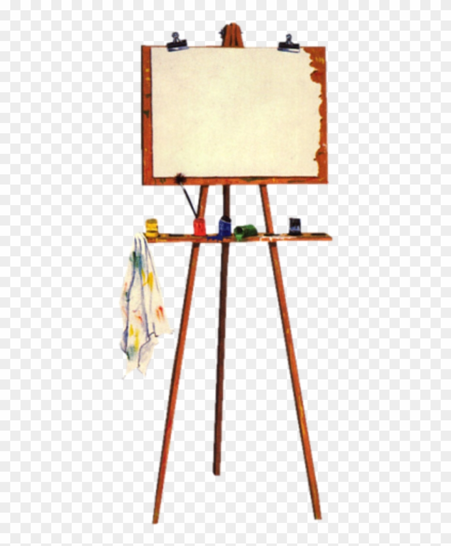 Vintage clipart easel clip free download Easel Painter Retro Vintage Freetoedit - Plywood Clipart ... clip free download