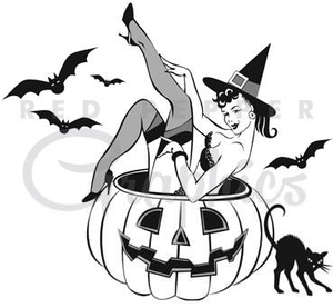 Vintage clipart halloween svg free library Clipart Halloween Vintage | Free Images at Clker.com ... svg free library