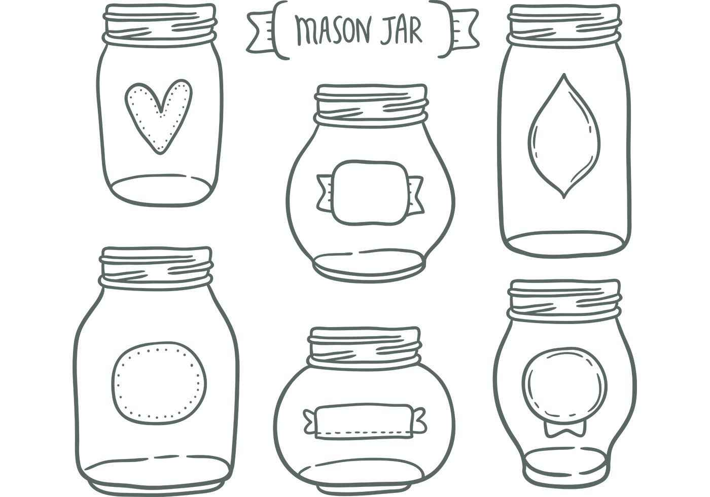 Vintage clipart memes jar png stock Need a cute mason jar vectors for your next project? This ... png stock