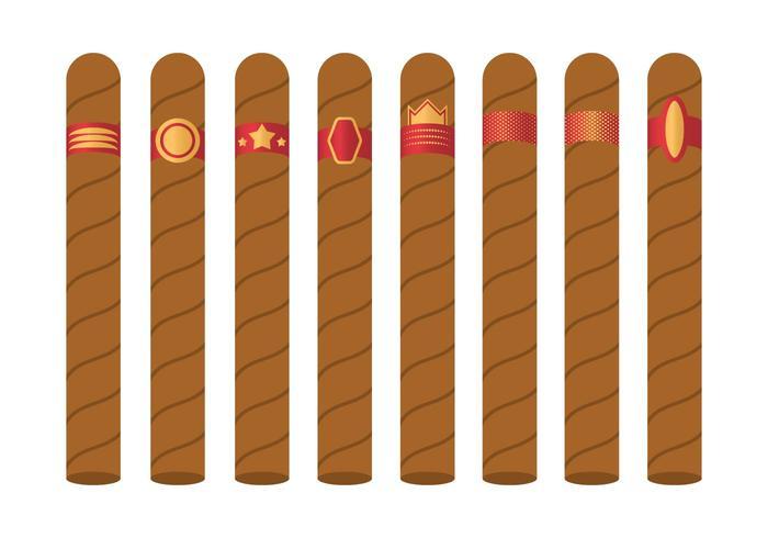 Vintage color tobacco labels clipart vector royalty free download Free Cigar Label Vector - Download Free Vectors, Clipart ... vector royalty free download
