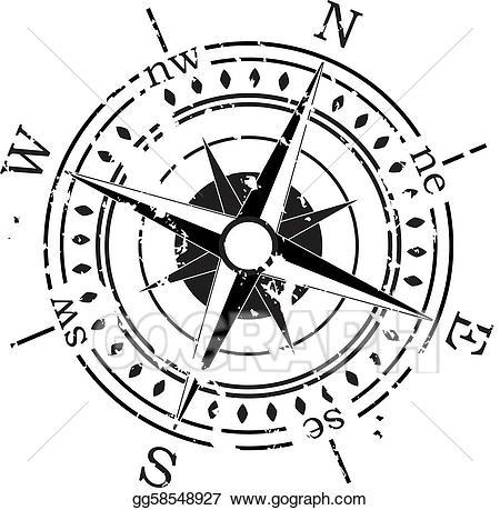 Vintage compass clipart png black and white library Vintage compass clipart 3 » Clipart Portal png black and white library
