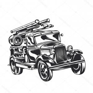 Vintage delivery truck clipart png transparent library Delivery Truck Isolated Icon Vector | SOIDERGI png transparent library