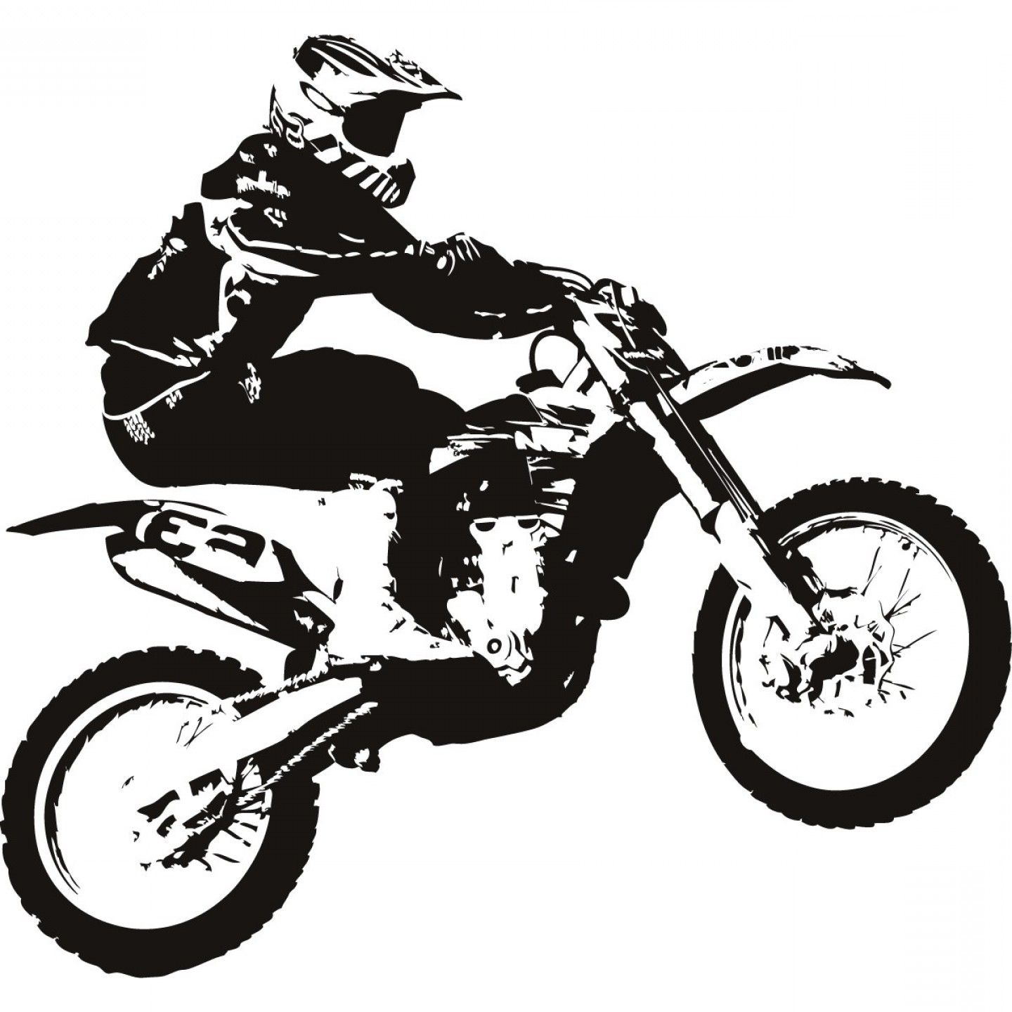 Vintage dirt bike clipart image free stock Best Dirt Bike Vector Draw: Top Blue Dirt Bike Cliparts ... image free stock