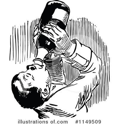 Vintage drunk clipart clipart transparent Alcoholic Clipart #1149509 - Illustration by Prawny Vintage clipart transparent