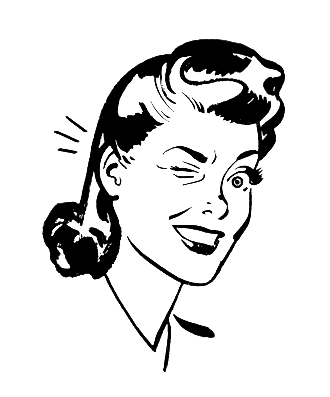 Vintage drunk clipart clipart royalty free library Free Funny Woman Cliparts, Download Free Clip Art, Free Clip ... clipart royalty free library