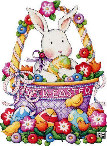 Vintage easter basket clipart png free stock 17 Best images about Vintage Easter - 1 on Pinterest | Clip art ... png free stock