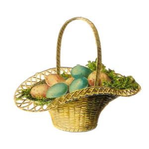 Vintage easter basket clipart jpg royalty free stock Vintage easter basket clipart - ClipartFest jpg royalty free stock