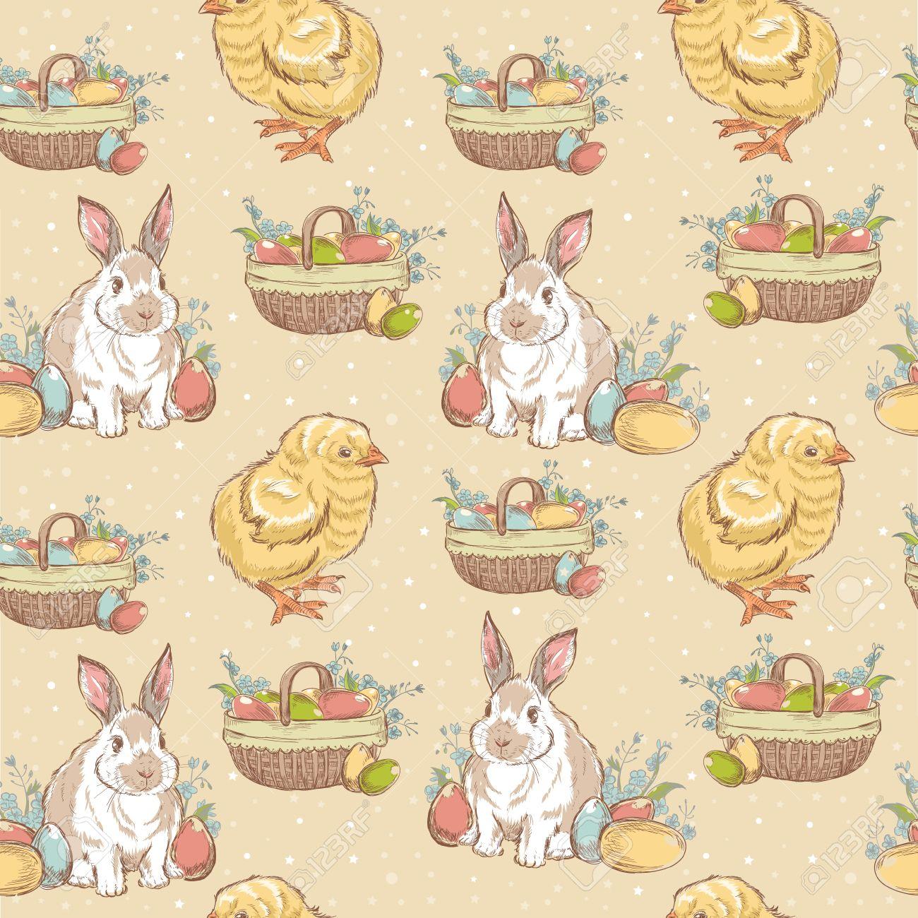 Vintage easter basket clipart jpg royalty free stock 13,656 Easter Basket Cliparts, Stock Vector And Royalty Free ... jpg royalty free stock