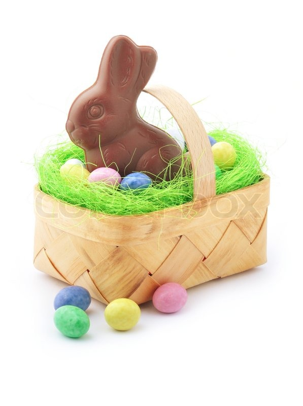 Vintage easter basket clipart freeuse library Buy Stock Photos of Easter Basket | Colourbox freeuse library